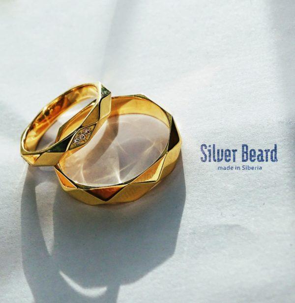 Изящные обручальные кольца