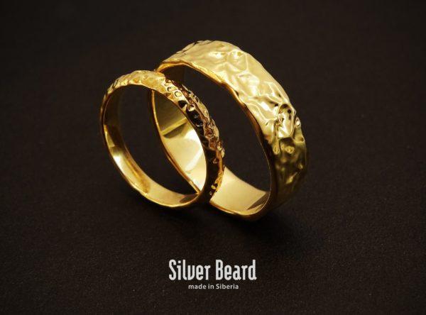 Кольца из лимонного золота