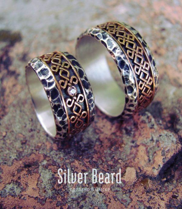 Обручальные кольца Камень предков