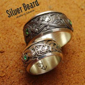 Скандинавские обручальные кольца