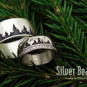 Cибирские обручальные кольца