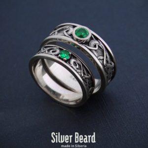 Кельтские обручальные кольца