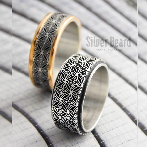 Готические обручальные кольца