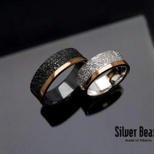 Кольца из золота и серебра