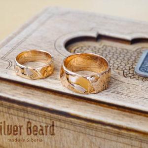 Текучие обручальные кольца