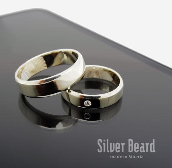 Классические кольца с отпечатками пальцев